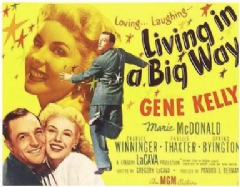 Living in a Big Way 1947 DVD - Gene Kelly / Marie McDonald
